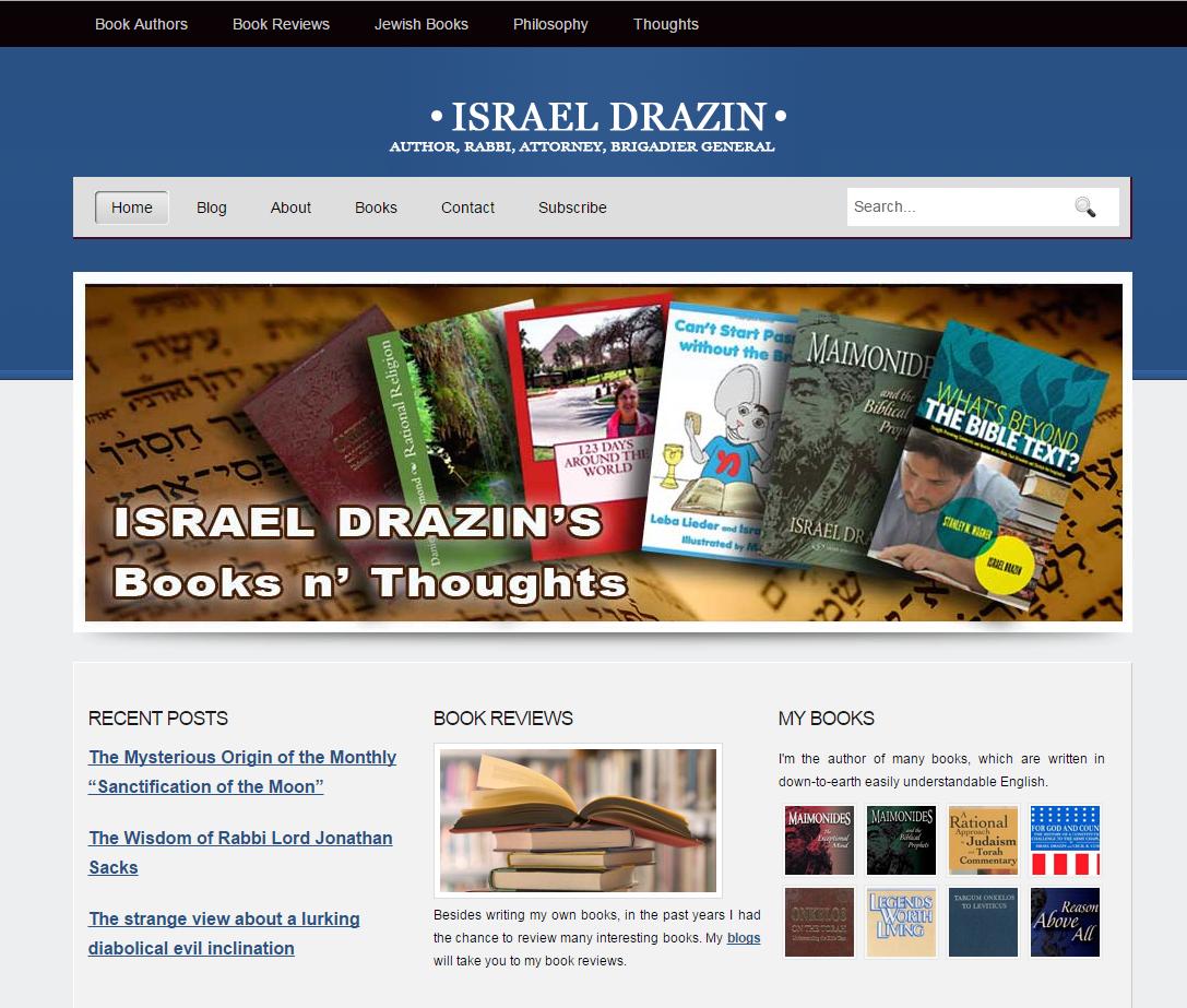israel drazin portfolio