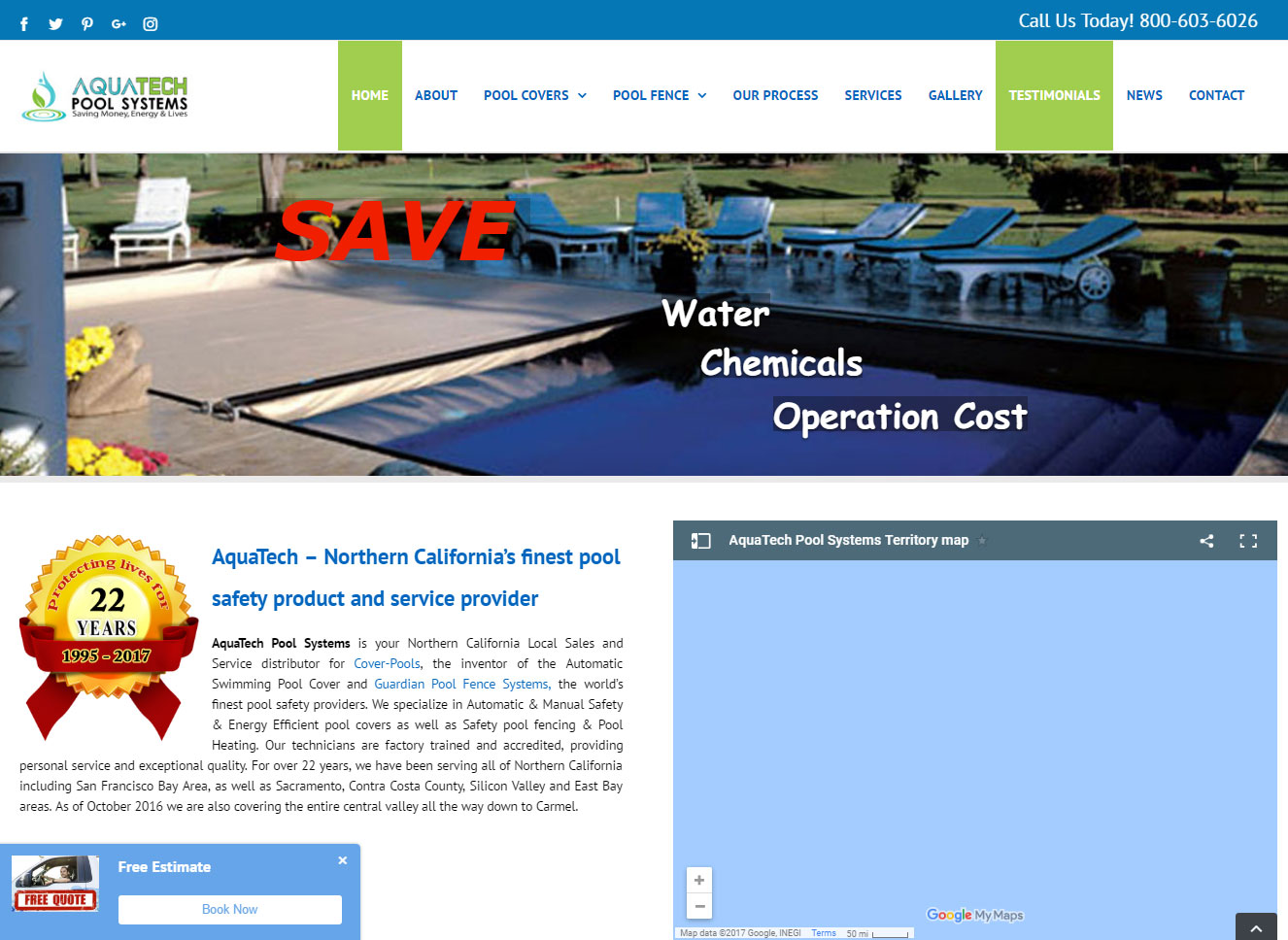 Web design poole for Pool design website