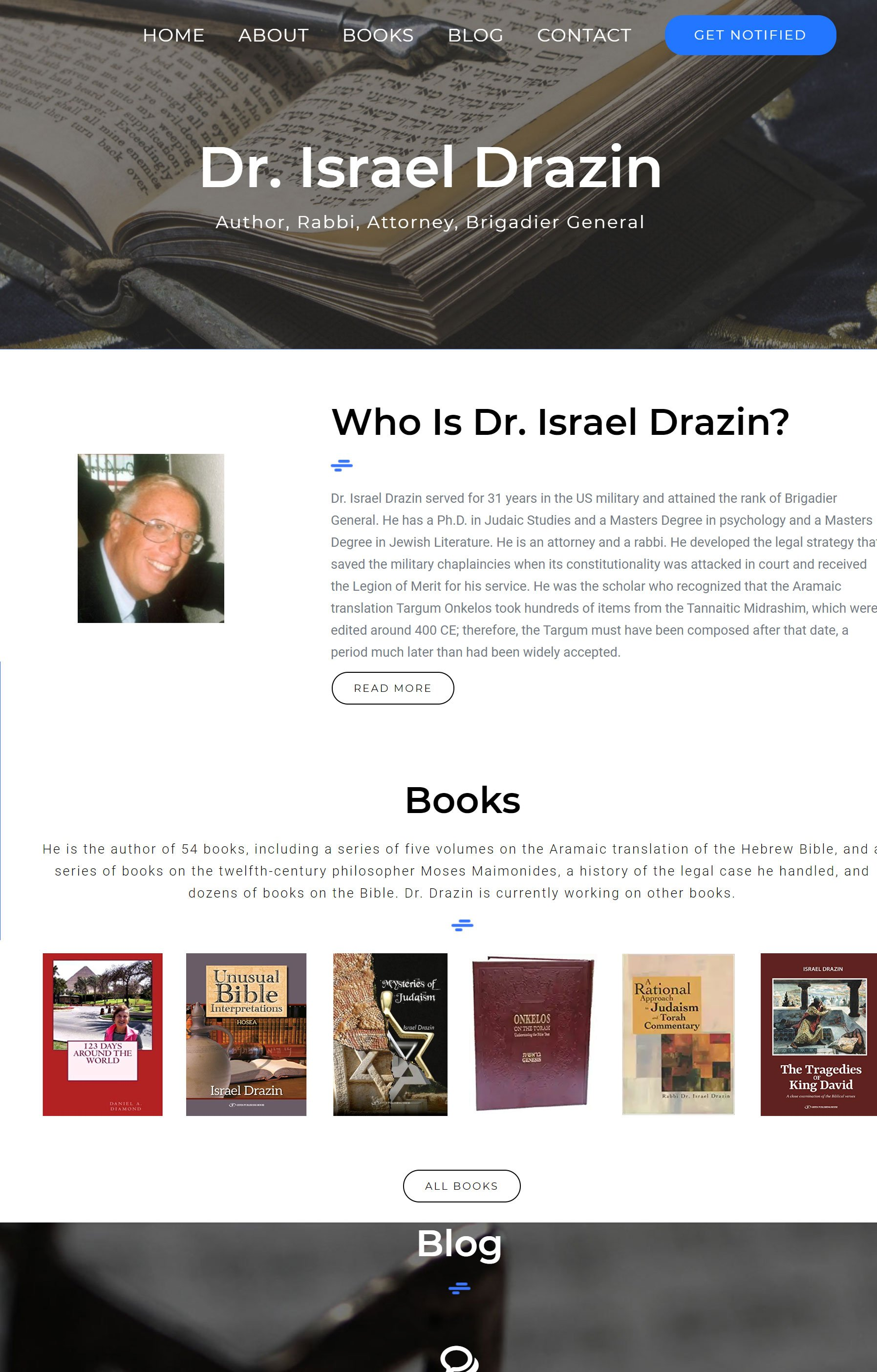 Israel Drazin Website