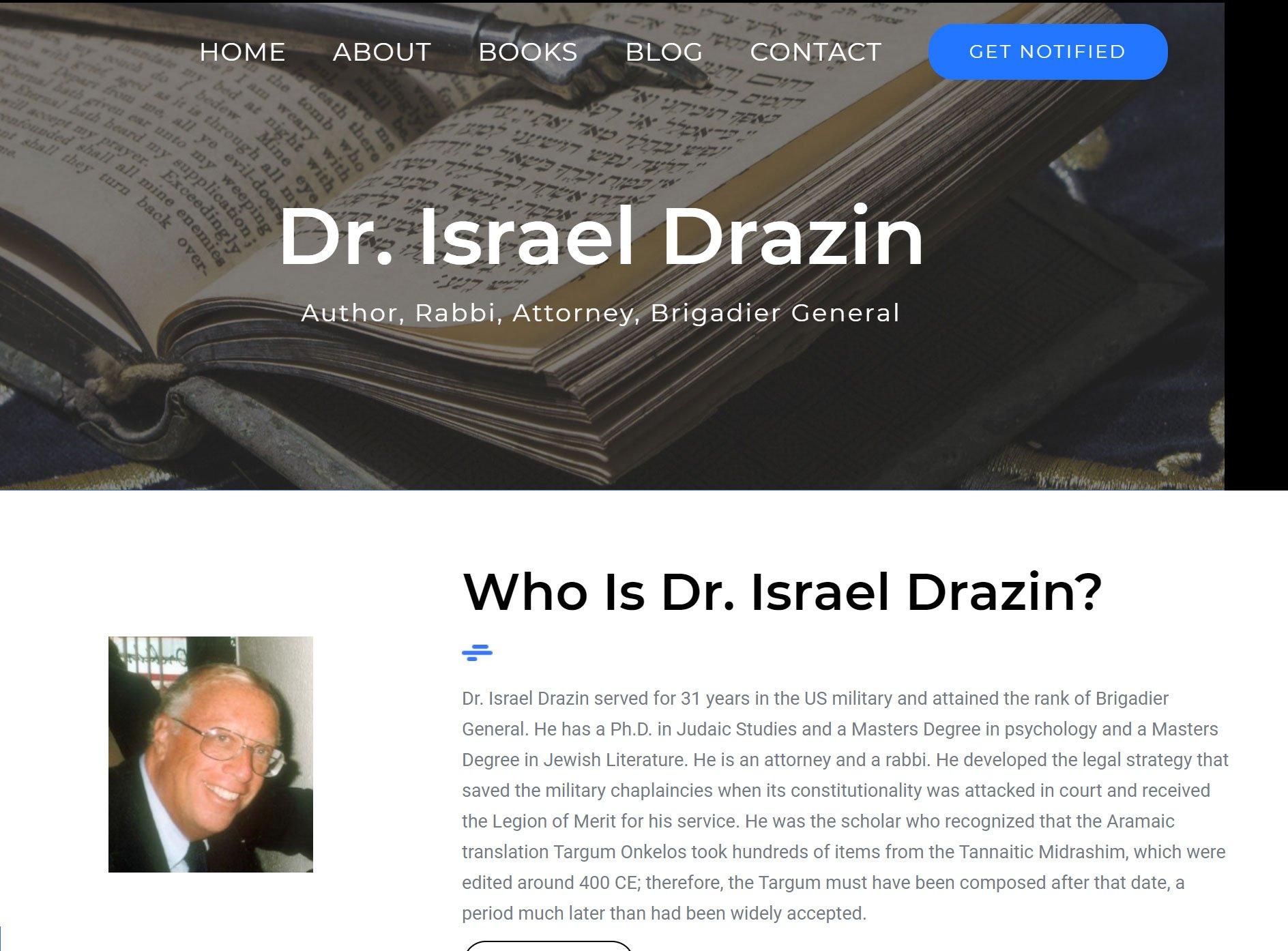 Israel Drazin Featured