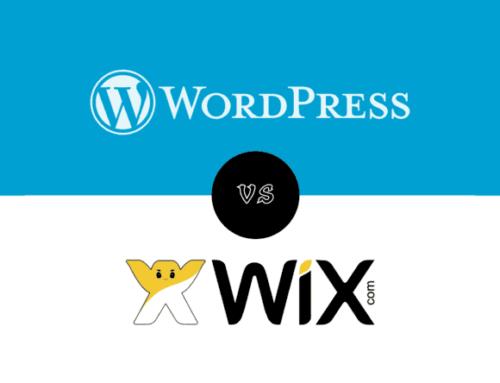 Wix vs WordPress in 2020?